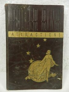 vtg 1937 Roller Skating Rink Attractions Promotional Party BOOK Chicago Skate Co
