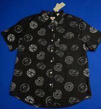Levis California Classic Short Sleeve One Pocket Donut Button Down Men's SZ XL