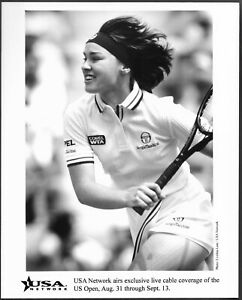 ~ Tennis Martina Hingis Original U.S Open TV Promo Photo Women's Tennis