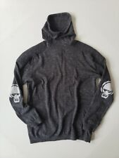 Zara Boys grey charcoal sweater sweatshirt cotton skulls M L 10 12 13 14 EUR 164