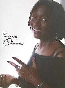 AUMA OBAMA original signiert – GROSSFOTO !!!