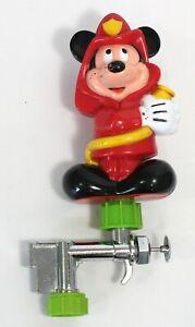 Mickey Mouse Fireman outdoor Drinking Fountain, Vintage ARCO & Walt Disney Prod.