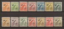 """NEW GUINEA 1932 SG163/76 """"Airs .With Dates"""" MINT Cat £300"""