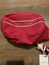 Tommy Hilfiger Bum Bag Rosa RRP £ 30 nuevo guión Cuerpo Bolso Rosa Oscuro