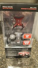 Propel Atom 1.0 Micro Drone Indoor / Outdoor Wireless Stunt Quadrocopter RED