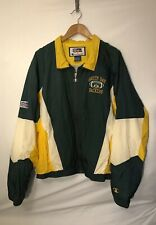 Vintage Green Bay Packers Zip-up Jacket Champion Pro Line 90s Sz L