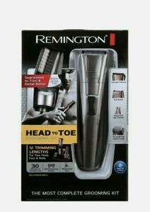 Remington Head to Toe Li-Ion Powered Body Groomer Kit - PG517