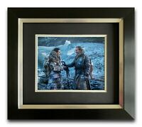 IAIN GLEN HAND SIGNED FRAMED PHOTO DISPLAY JORAH MORMONT GAME OF THRONES 5.