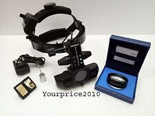 Wireless Indirect LED Ophthalmoscope With Accessories & 20 D Lens Ophthalmoscope