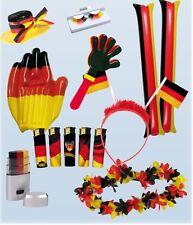 Deutschland Damen Fanpaket 11 tlg WM EM Fanartikel Fussball Fahne Fan Flagge Neu