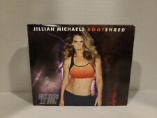 Jillian Michaels Body Shred Workout Exercise Program Set 12 Disc Dvd Set