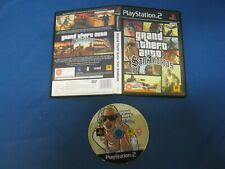 Sony PlayStation Ps2 Pal No Manual GRAND THEFT AUTO SAN ANDREAS