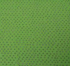 Pixie by Ink & Arrow BTY Tiny Square Polka Dot Blender Deep Lime Green