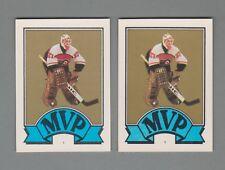 1987-88 O-Pee-Chee Regular & Blank Back Hockey Sticker #1 Ron Hextall (2)