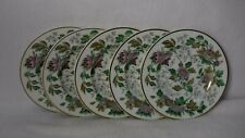 WEDGWOOD china AVON MULTICOLOR W3983 pattern Set of 5 Bread Plates - 6""