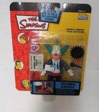 PLAYMATES THE SIMPSONS WORLD OF SPRINGFIELD TUXEDO KRUSTY  NEW ON CARD
