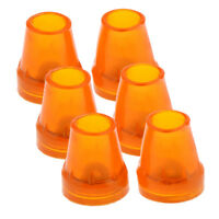 6pcs Anti Slip Rubber Tip For Cane Walking Stick Crutches Chair 7/8 inch