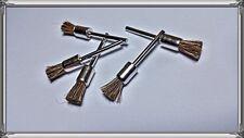 5 Stück Nylonbürste Nylon Bürste 8mm für Dremel, Proxxon, Multitool