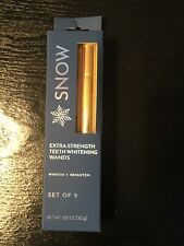 SNOW - Extreme Strength Teeth Whitening Wands. Pack Of TWO!