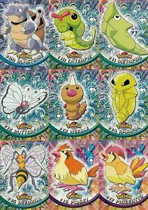 MINT Pokemon Topps Dex entries 1-76 1st Print (Blue Logo)