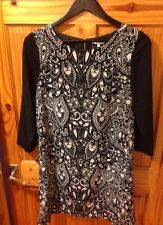 New Look Polyester 3/4 Sleeve Tunic Dresses for Women