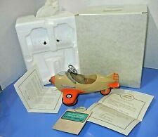 "Hallmark Kiddie Car Classics 8""L Pedal 1941 Steelcraft Spitfire Airplane Murray"