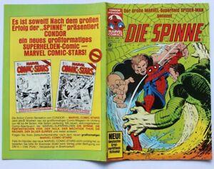 Die Spinne Nr. 61 - MARVEL Comic - SPIDERMAN von CONDOR - guter Zustand Z1*