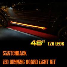"48"" LED Side Step Light Running Board Strip For Dodge Ram 1500 2500 3500 4500"