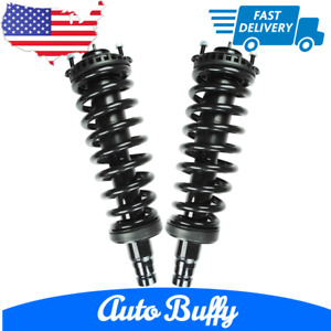 Premium 2 Front Complete Strut & Spring Assembly For 2002-2009 Chevy Trailblazer