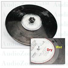 VINYL RECORD CLEANING LABEL SAVER PROTECTOR  WATERPROOF DESIGN - AUDIOPHILE DIY