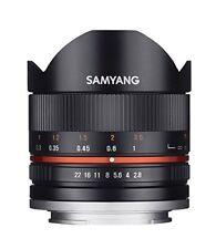 Samyang 8mm f2.8 II ojo de pez manual Focus objetivo para Sony -e