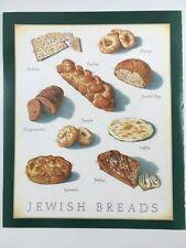 Cooks Illustrated Back Cover Only Framable  Art John Burgoyne: JEWISH BREADS