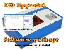 Upgraded Software Package For K40 C02 Laser Engravers On Disc Complete
