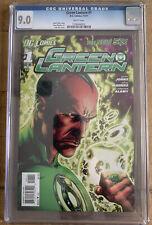 Green Lantern #1 CGC 9.0 New 52