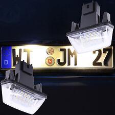 helle LED SMD Kennzeichenbeleuchtung Nummernschild NEU 3200K WARMWEISS 7601WW