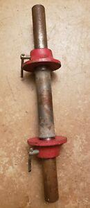 One York Barbell Standard Vintage Dumbbell Handle W/ Sleeve & Collars adjustable