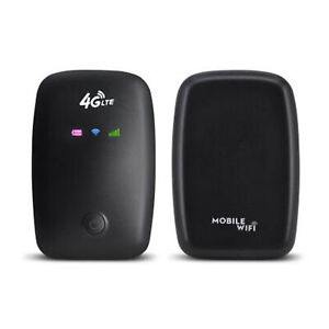 Portable 4G LTE Mobile WiFi Wireless Pocket Secure Hotspot Router SIM Card NEW
