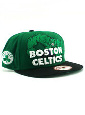 New Era NBA Boston Celtics 9fifty Snapback Hat Incredible Hulk Marvel Adjustable