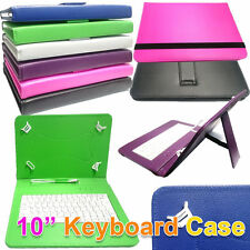 """10"""" PU Leather Micro Usb Keyboard Case Stand For neoCore N1 10.1 Tablet"""