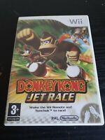 Donkey Kong Jet Race Nintendo Wii / U Racing Video Game Manual PAL