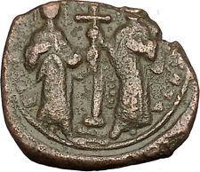 Constantine X & Eudocia 1059AD Ancient Byzantine Coin Jesus Christ  i54202