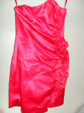 NWT H&M Exclusive Glamour Conscious Collection Strapless Ruffles Red Dress