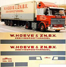 Scania W.Hoeve & ZN.B.V. Olanda (NL) 1:87 camion decalcomania autocarro