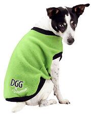 NEW (DGG) DOG GONE GORGEOUS LIME GREEN MEDIUM 37CM DOG JACKET/WARMIE/JUMPER/COAT