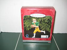 HallMark KeepSake Joe Montana Christmas Tree Ornament Notre Dame 1998