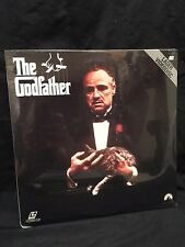 SEALED Godfather Collection I, II, III LASERDISC Pacino De Niro Brando NEW 1990