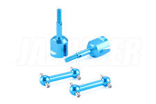 Jazrider Aluminum Universal Swing Shaft Set For Tamiya TT01/TT01E/TT02 NIP