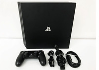 SONY PS4 PlayStation 4 Pro Jet Black 1TB CUH-7000B Controller Pro Japan F/S