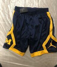 Michigan Wolverines Jordan Basketball Shorts Mens Size Xxl Bnwt