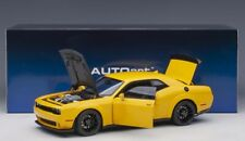 2018 Dodge Challenger Hellcat in Yellow Jacket in 1 18 Scale by Autoart 71737